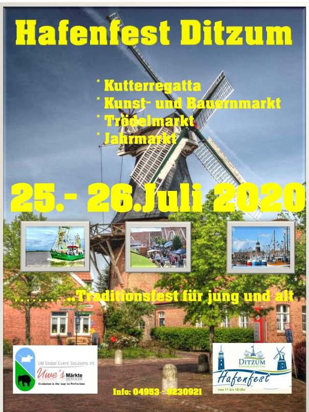 Ditzum Hafenfest 2020