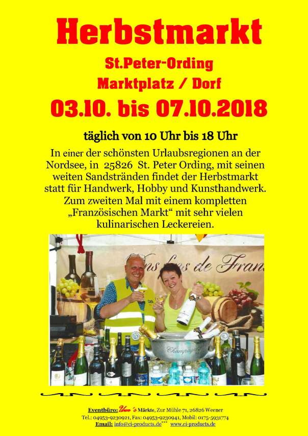 Herbstmarkt 2018 - Flyer - End Variante