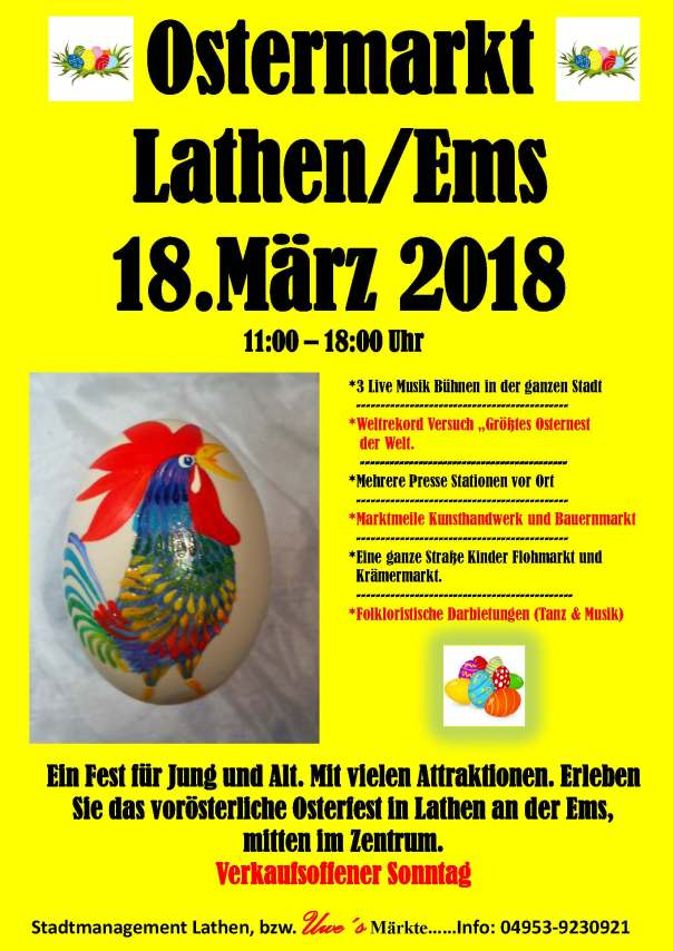 Lathen Ostermarkt