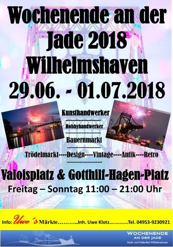 Wilhelmshaven Wochenende an der Jade 2018