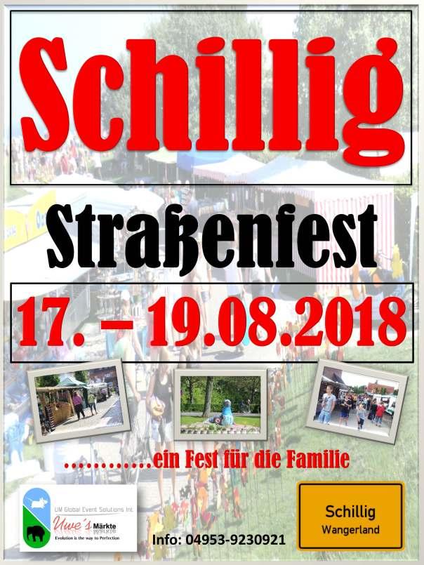 Plakat Schillig August